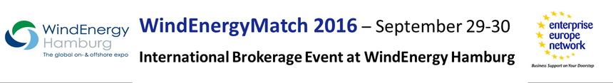 WindEnergyMatch 2016